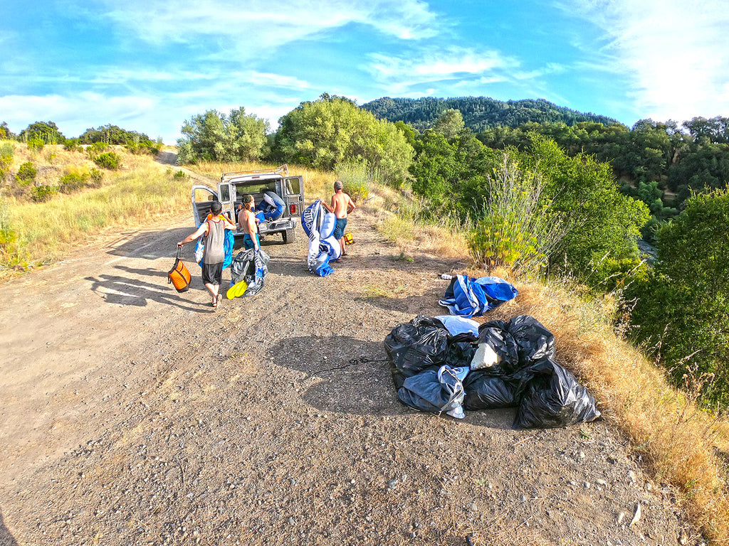 earth runners tribe russian river cleanup