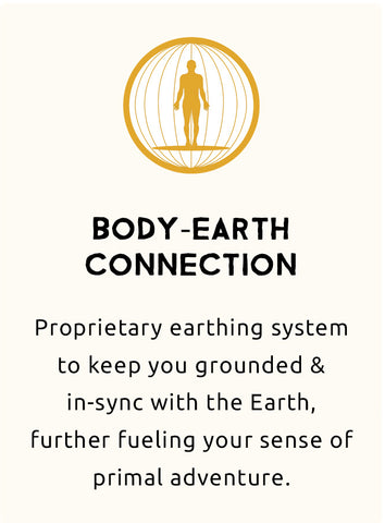 body earth grounding connection