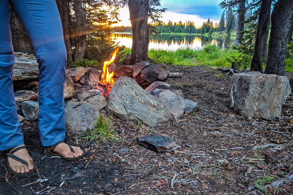 camping sandals