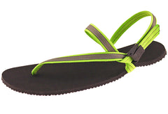 green elemental lightweight minimalist water sandal