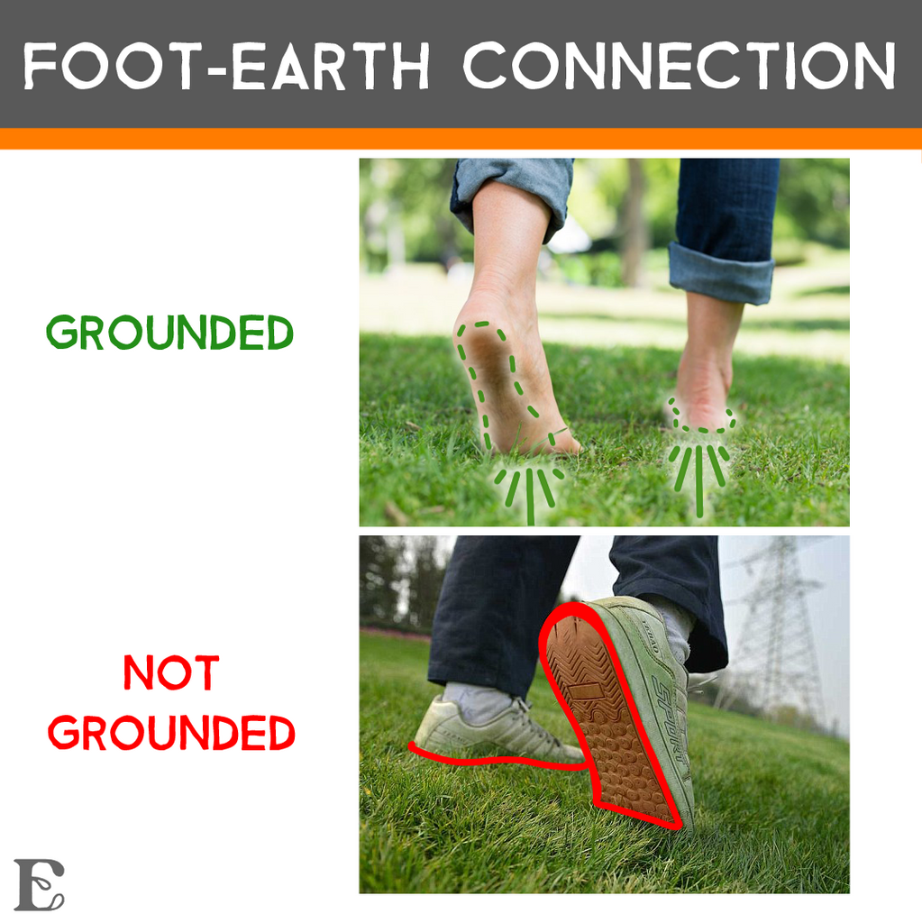 grounding foot earth connection