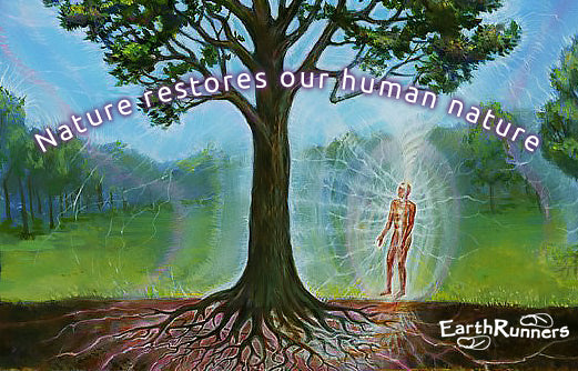 nature earthing restores human nature