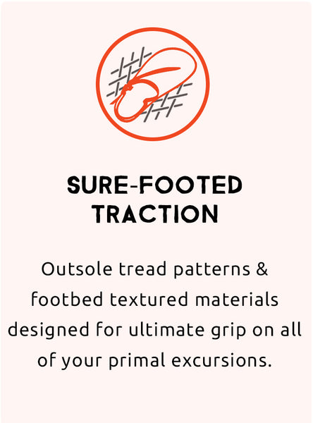 sure footed traction