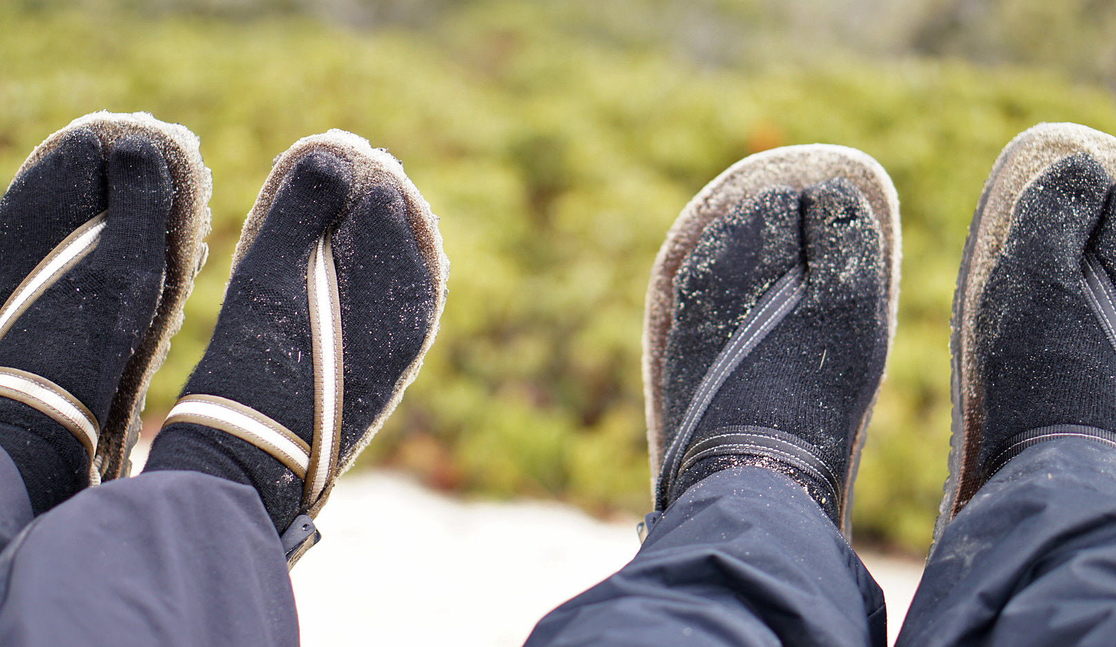 winter earthing shoes
