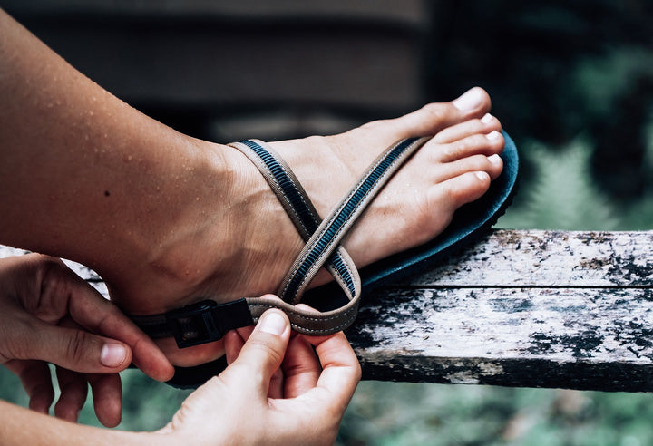 minimalist water adventure sandals