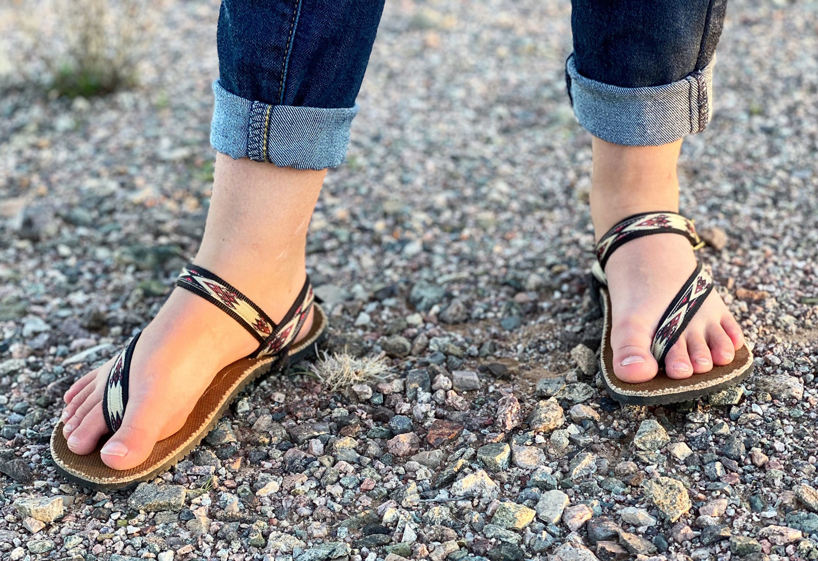children minimalist earthing sandal
