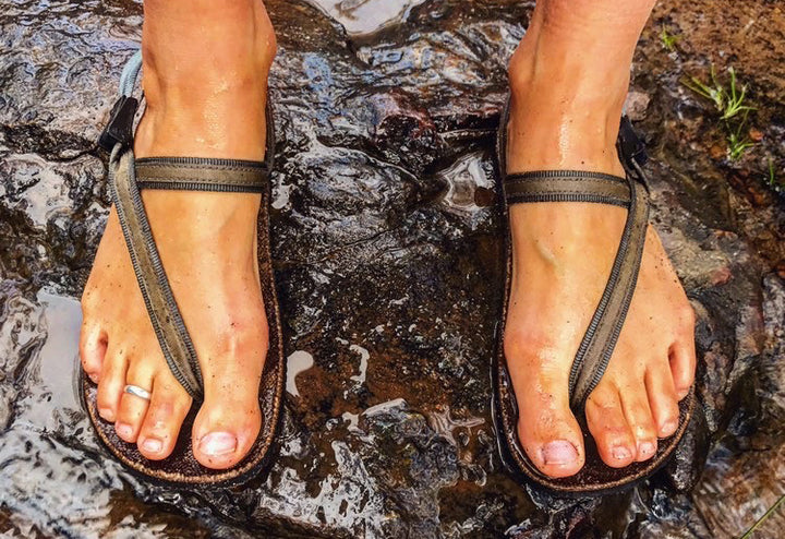 Circadian earthing adventure sandals