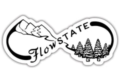 Nature Flow State Sticker