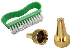 Sandal Cleaning Nozzle + Scrub Brush