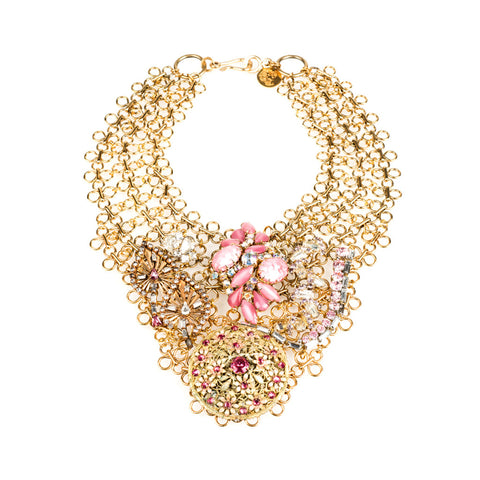 Amira Royal Pink Necklace