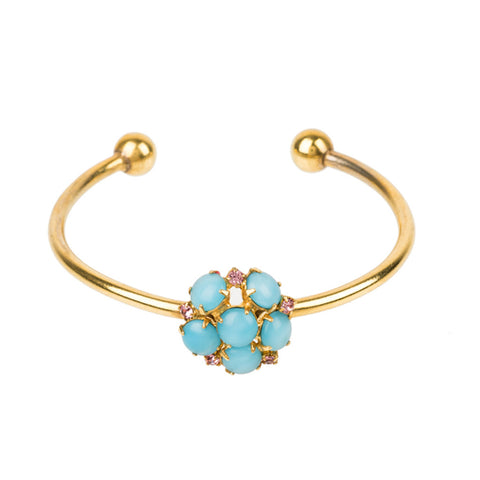 Dot Bracelet Blue Small