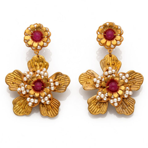 Earrings Soraya 1 Red