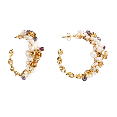 Earrings Pompadour