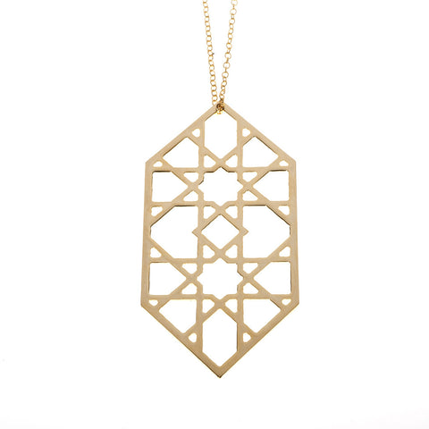 Alhambra pendant on chain.