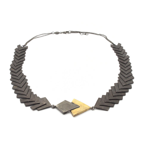 Construct Necklace black