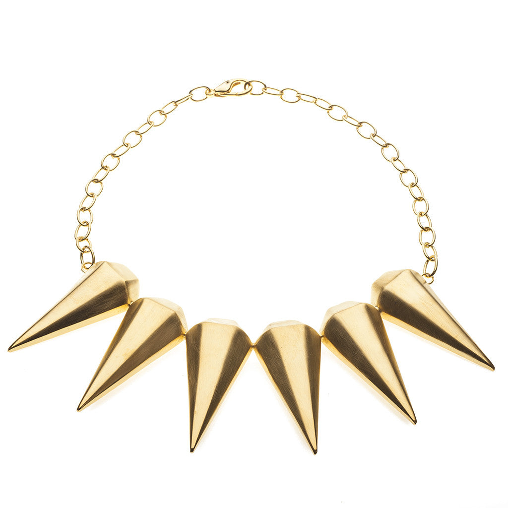 3D Warrior Spike Necklace