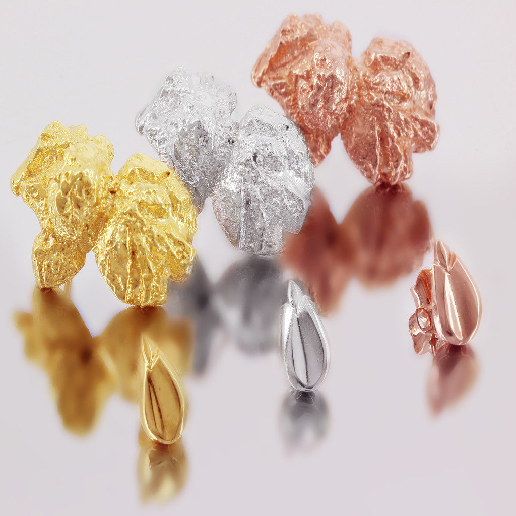 Only Popcorn Earrings by Ghia in Plain