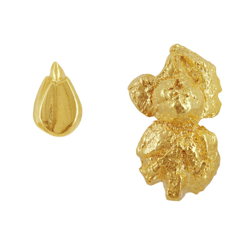 Only Popcorn Earrings by Ghia in Butter