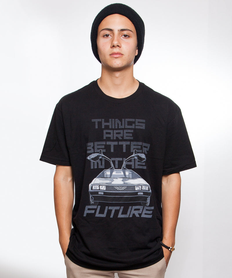 BETTER FUTURE DeLorean T-shirt