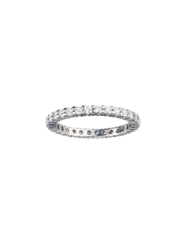 Round Diamond Eternity Wedding Band - Bullion & Diamond, Co.