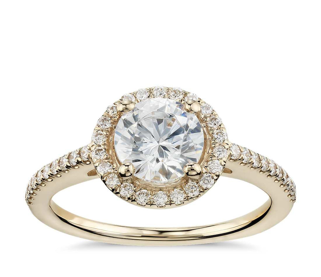 Build Your Own Yellow Diamond Engagement Ring