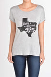 T5342X dont mess with TX map tee plus size