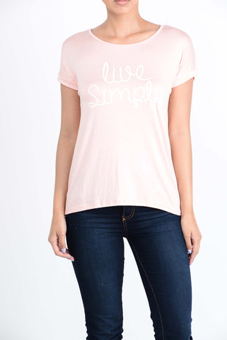 T5342 live simply tee
