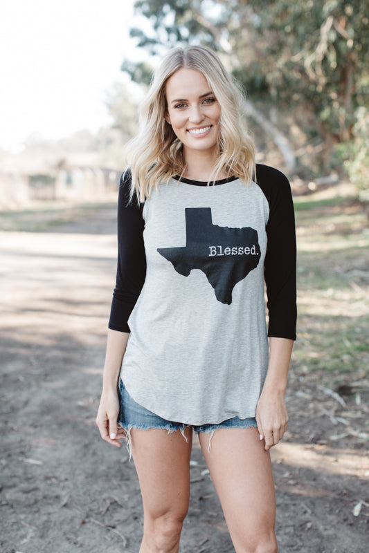 T6593X blessed Texas elbow baseball plus size