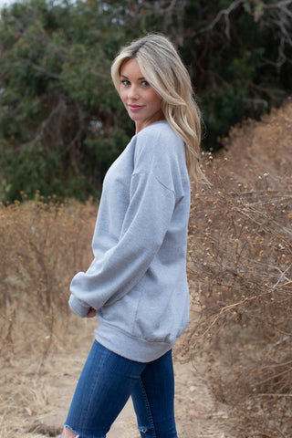 T8315 long sleeve brushed terry