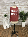 T3532 blessed mama long sleeve sweatshirt
