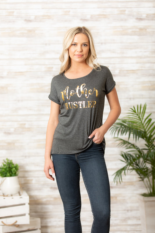 T5342 mother hustler tee