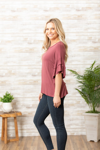 T7608 double bell tunic