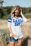 T7014 game day stripe elbow baseball