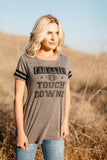 T7214 tailgates and touchdowns tee