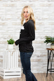 T3532 mama bear long sleeve sweatshirt