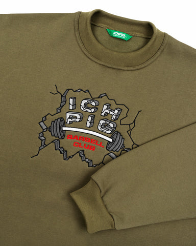 Barbell Box90 Crew - Olive