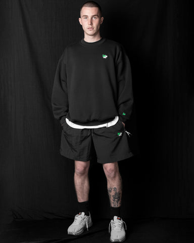 Pigasus Box90 Crew - Black