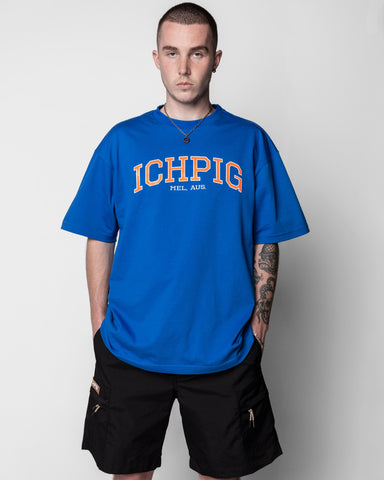 Stadium Tee - Royal Blue Knicks