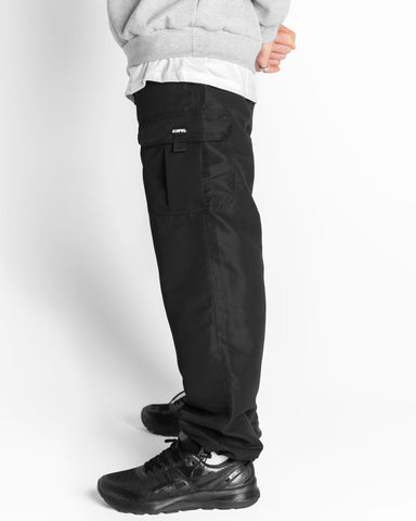 Cargo Spray Pant - Black