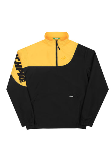 Delta 1/4 Zip Jacket - Yellow Nova