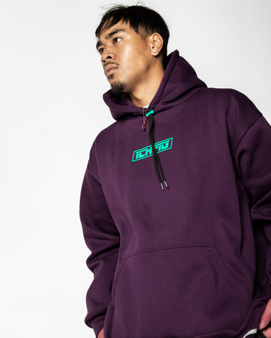 Toggle Box90 Hood - Plum