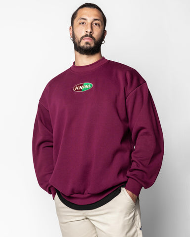 Sprinters Box90 Crew - Oxblood