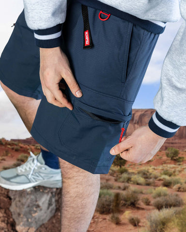 Rip Stop Tactical Shorts - Navy