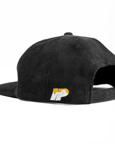 Painter 6 Panel Hat - Black
