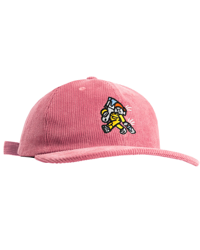 Painter 6 Panel Hat - Dusty Pink