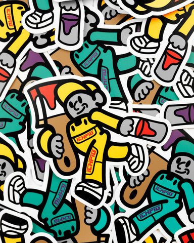Painters Sticker Pack - 2 x Stickers