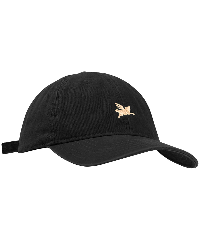 Pigasus 6 Panel Hat - Black