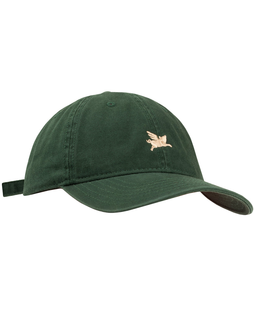Pigasus 6 Panel Hat - Dark Forest