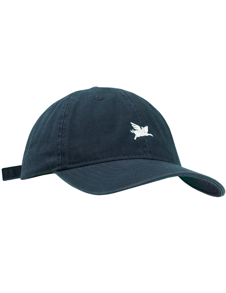 Pigasus 6 Panel Hat - Navy