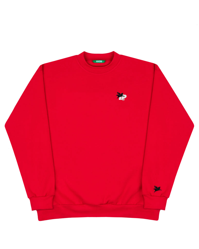 Pigasus Box90 Crew - Red